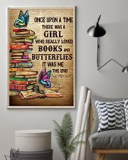 Girl Loved butterflies And Books 11x17 Poster lifestyle-poster-1