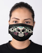 Skull lover Cloth face mask aos-face-mask-lifestyle-01
