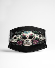 Skull lover Cloth face mask aos-face-mask-lifestyle-22