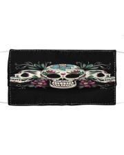 Skull lover Cloth face mask front