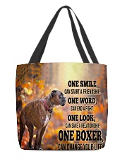BOXER CHANGE YOUR LIFE TOTE All-over Tote front