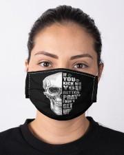 If you kick me- SKULL Cloth face mask aos-face-mask-lifestyle-01
