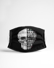 If you kick me- SKULL Cloth face mask aos-face-mask-lifestyle-22