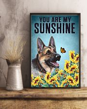 You are my Sunshine German Shepherd 16x24 Poster lifestyle-poster-3