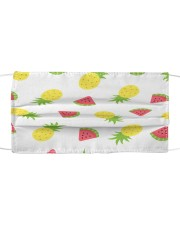 Pineapple 1001 Cloth face mask front