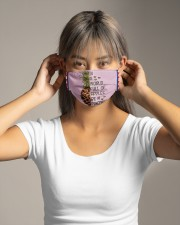 Pineapple SHIP WITHIN 3 TO 5 business Cloth face mask aos-face-mask-lifestyle-16