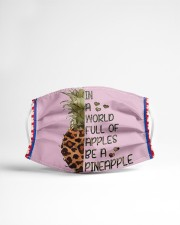 Pineapple SHIP WITHIN 3 TO 5 business Cloth face mask aos-face-mask-lifestyle-22