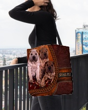 SHAR PEI 1 All-over Tote aos-all-over-tote-lifestyle-front-05
