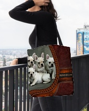 French Bulldog 3 All-over Tote aos-all-over-tote-lifestyle-front-05