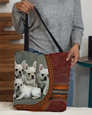 French Bulldog 3 All-over Tote aos-all-over-tote-lifestyle-front-10