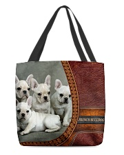 French Bulldog 3 All-over Tote back