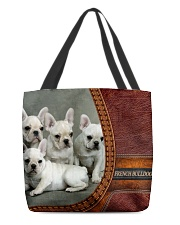 French Bulldog 3 All-over Tote front