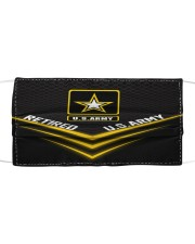 Proud US ARMY Cloth face mask front