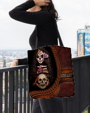 Skull Tote All-over Tote aos-all-over-tote-lifestyle-front-05