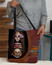 Skull Tote All-over Tote aos-all-over-tote-lifestyle-front-10