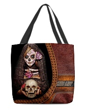 Skull Tote All-over Tote back