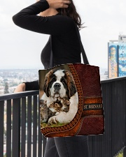 St Bernard  All-over Tote aos-all-over-tote-lifestyle-front-05