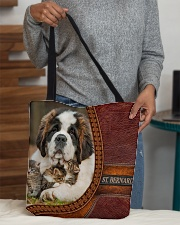 St Bernard  All-over Tote aos-all-over-tote-lifestyle-front-10
