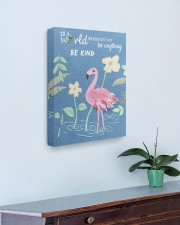 BE KIND 16x20 Gallery Wrapped Canvas Prints aos-canvas-pgw-16x20-lifestyle-front-01