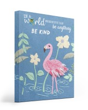 BE KIND 16x20 Gallery Wrapped Canvas Prints front