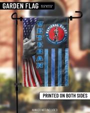 """PROUD NATIONAL GUARD VETERAN FLAG 11.5""""x17.5"""" Garden Flag aos-garden-flag-11-5-x-17-5-lifestyle-front-10"""