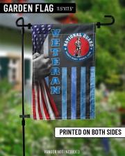 """PROUD NATIONAL GUARD VETERAN FLAG 11.5""""x17.5"""" Garden Flag aos-garden-flag-11-5-x-17-5-lifestyle-front-13"""