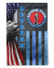 "PROUD NATIONAL GUARD VETERAN FLAG 11.5""x17.5"" Garden Flag front"