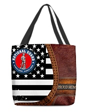 PROUD NATIONAL GUARD MOM All-over Tote front