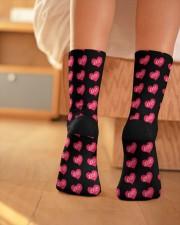 Love Socks Crew Length Socks aos-accessory-crew-length-socks-lifestyle-back-01