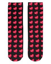 Love Socks Crew Length Socks front