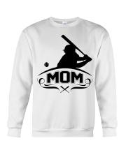 Baseball MOM Crewneck Sweatshirt thumbnail