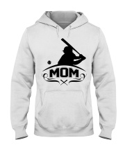 Baseball MOM Hooded Sweatshirt thumbnail