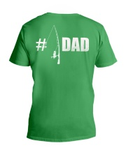 1 DAD Perfect Father's Day Gift V-Neck T-Shirt thumbnail