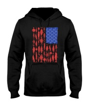 Fishing Patriotic American Hooded Sweatshirt thumbnail