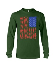 Fishing Patriotic American Long Sleeve Tee thumbnail