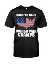 WORLD WAR CHAMPS Classic T-Shirt front