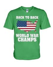 WORLD WAR CHAMPS V-Neck T-Shirt thumbnail