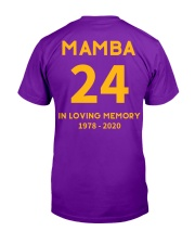 MAMBA IN LOVING MEMORY Classic T-Shirt thumbnail