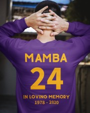 MAMBA IN LOVING MEMORY Crewneck Sweatshirt apparel-crewneck-sweatshirt-lifestyle-03