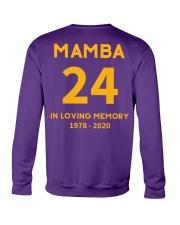 MAMBA IN LOVING MEMORY Crewneck Sweatshirt back