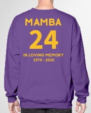 MAMBA IN LOVING MEMORY Crewneck Sweatshirt garment-crewneck-sweatshirt-back-01