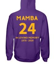 MAMBA IN LOVING MEMORY Hooded Sweatshirt thumbnail