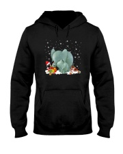 For Elephant Lovers Hooded Sweatshirt thumbnail