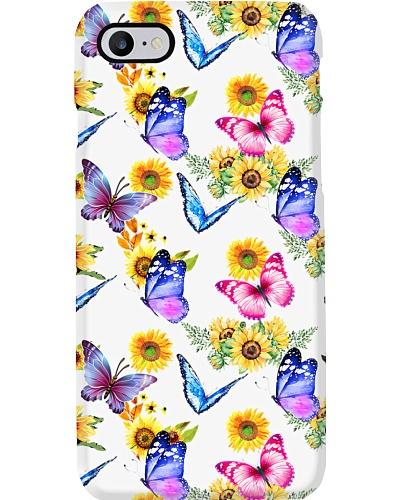 Butterflies And Sunflowers