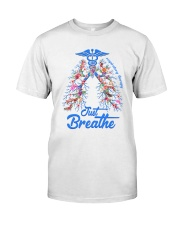 Respiratory Therapy Classic T-Shirt front