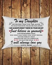To My Daughter Rectangular Pillowcase aos-pillow-rectangle-front-lifestyle-2