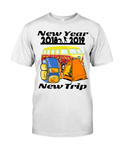 New Year 2019 Shirt - New Trip traveler -Men women