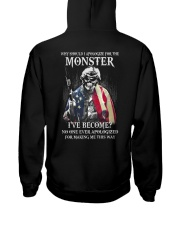 Why Should I Apologize For The Monster Hooded Sweatshirt back