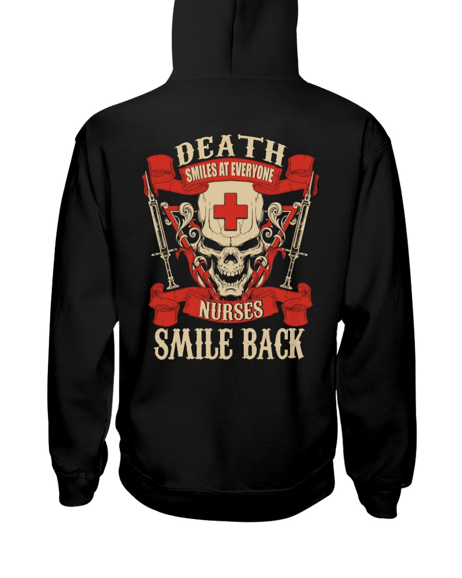 Nurse Shirt Hooded Sweatshirt