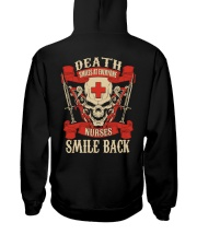 Nurse Shirt Hooded Sweatshirt back
